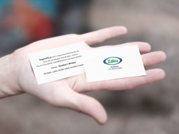 Zako Business Card Image