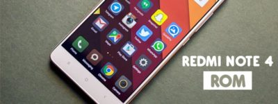 Xiaomi Redmi Note 4 Modded AOSP ROM (Android 6.0) image