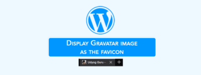 Display Gravatar Image as Favicon in WordPress (Without Plugin)✌️😎 image