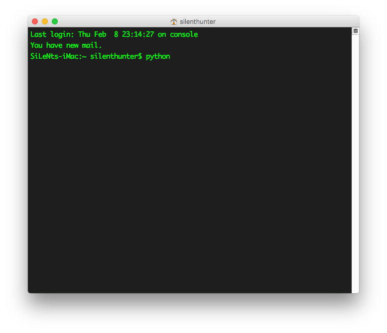 check python version command image